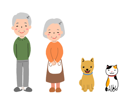 Grandparents and pets