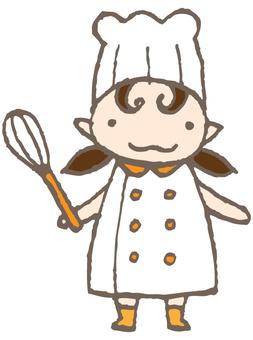 Fairy children - pastry