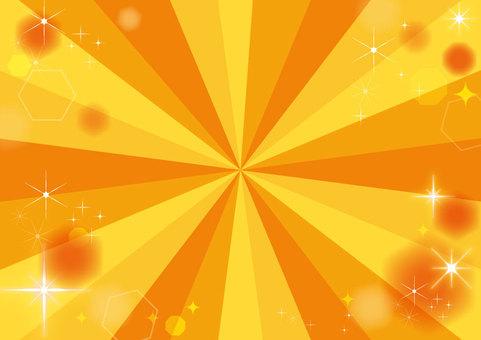 【Background】 Orange (A4 size)
