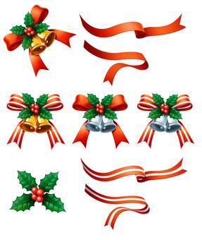 Christmas Bell Frame Belt Parts
