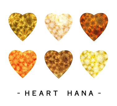 Heart flower 04