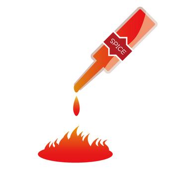 Seasoning · hot spicy food image