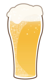 Summer beer (glass)