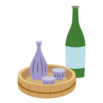 Japanese sake 2