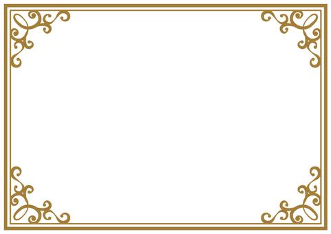 Elegant frame 003