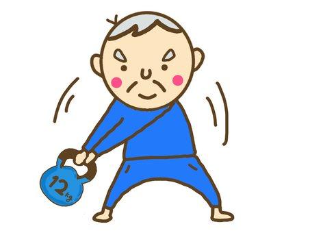 高級肌肉訓練壺