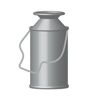 Ranch milk can