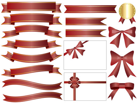 Ribbon's icon set brown