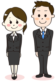 A new social worker's man and woman