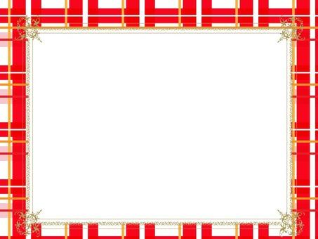Check red frame