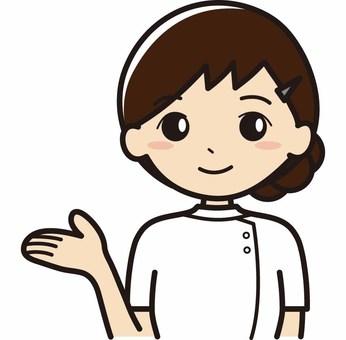 여성 간병인
