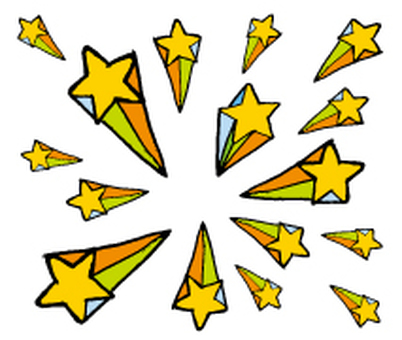 Shooting Star _ Hand-drawn illustration