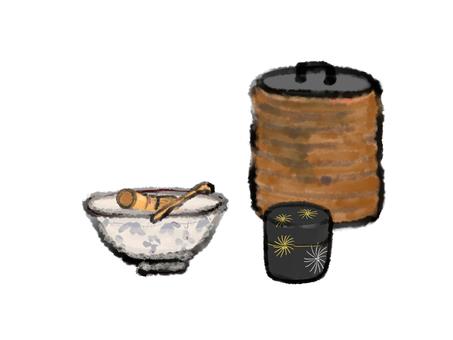 Tea bowl Shino