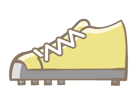 Spike shoes-yellow 190721