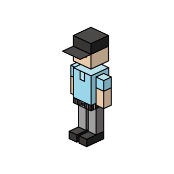 Isometric boy (referee)