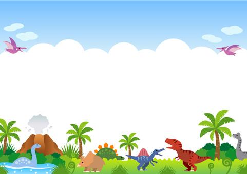 Dinosaur era frame