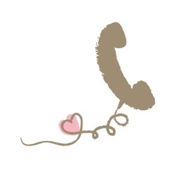 【Request】 Handset Hearted brown