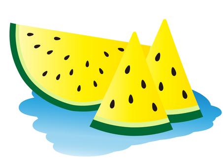 Yellow ball watermelon