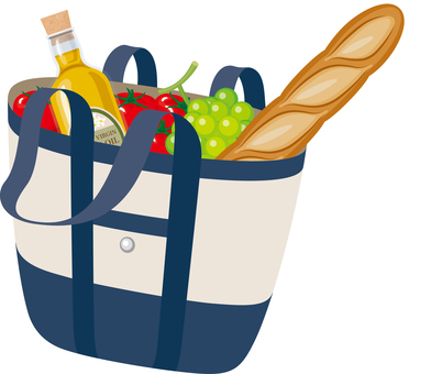 Tote bag shopping shopping