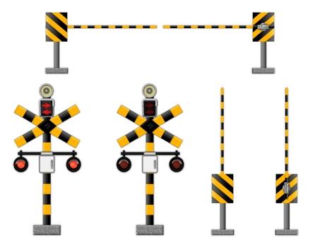 Railroad crossing set (2339)