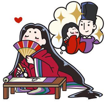 Murasaki Shikibu (Genji Monogatari)