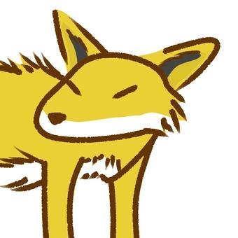 Fox's face 01