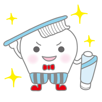 Fashionable toothpaste