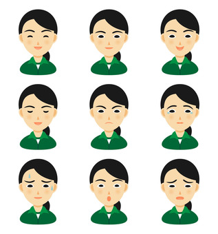 Facial expressions of a student in a jersey