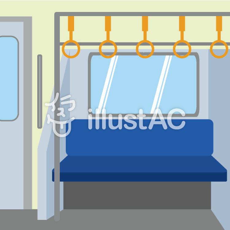 電車内のイメージイラスト No 796417無料イラストならイラストac