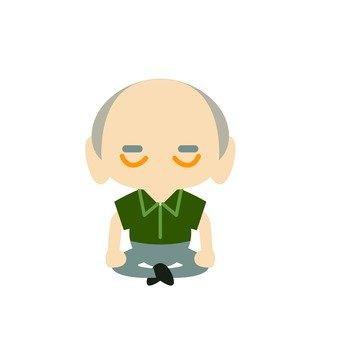 Grandpa sitting