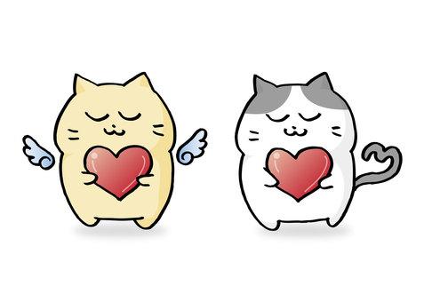마음을 가진 고양이