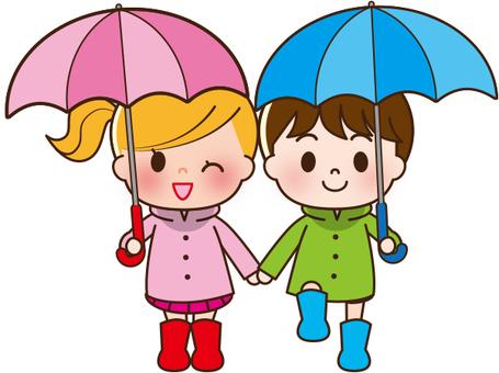 雨季的孩子