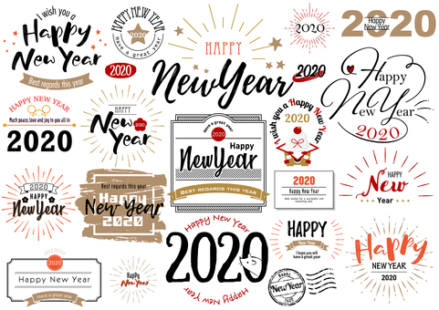 New Year's card 400