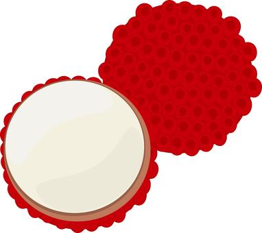 Food series fruit lychee