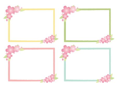 Cherry Pastel Frame
