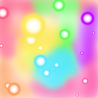 Illustration of polka-dot pattern
