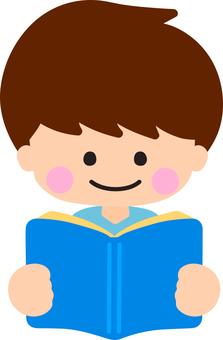 독서하는 남자
