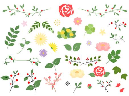 花朵和葉子