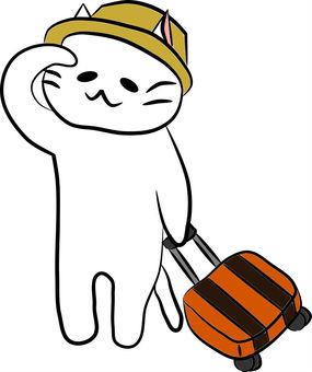 Nyanko-san travel