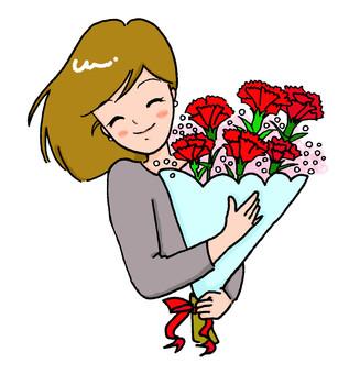 어머니의 날 ~ 카네이션의 꽃다발