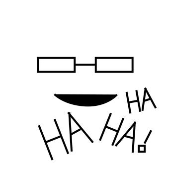 안경 & 웃음