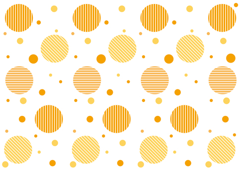 Wallpaper - Slanted Dots Polka - Orange