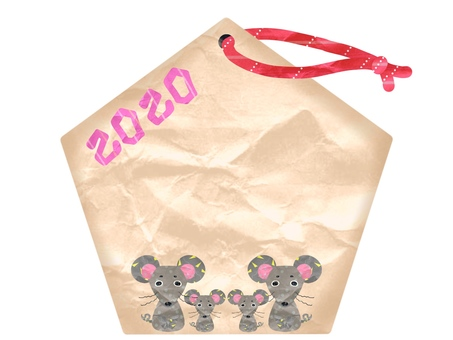 Ema of the mouse (child) in 2020
