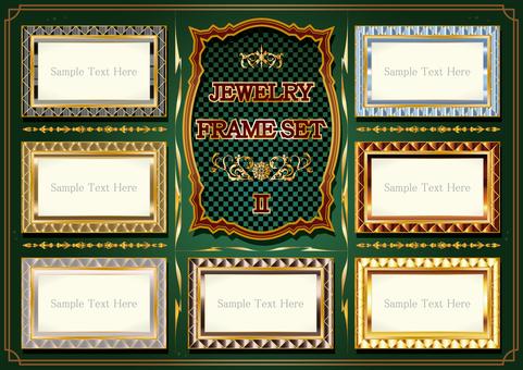 Jewelry Frame Set 02