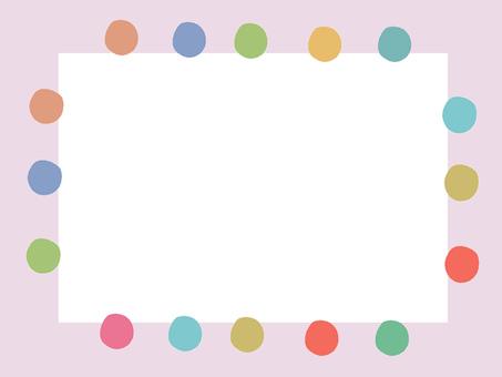 Pink dot frame