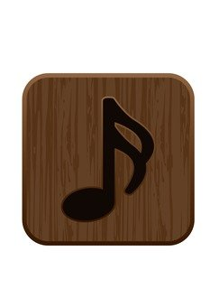 16th note - woodgraining