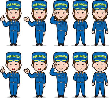Fireman 3 (women's wear)