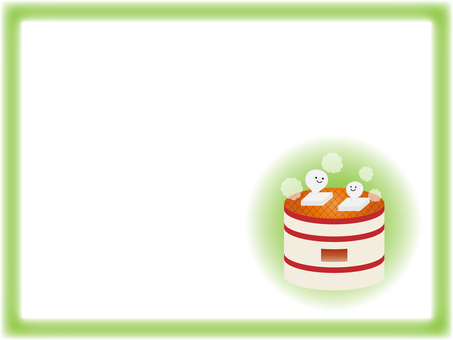 Rice cake frame material
