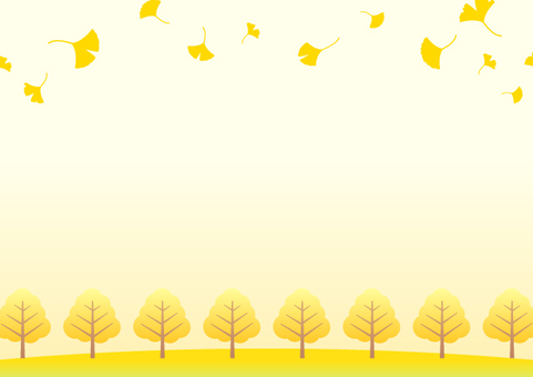 Ginkgo background material 3