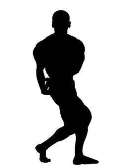 Side triceps (skin head)